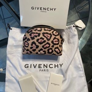 Givenchy make up bag.